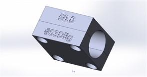 Зажим для прямой трубы Ø50.8
